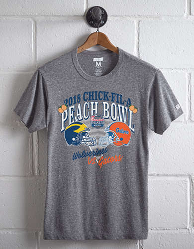Tailgate Men's Michigan Vs. Florida Peach Bowl T-Shirt -