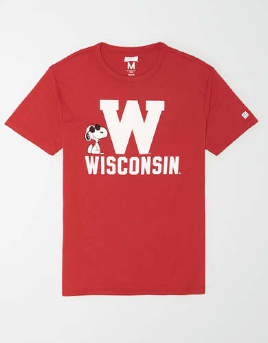 Tailgate x Peanuts Men's Wisconsin Badgers T-Shirt