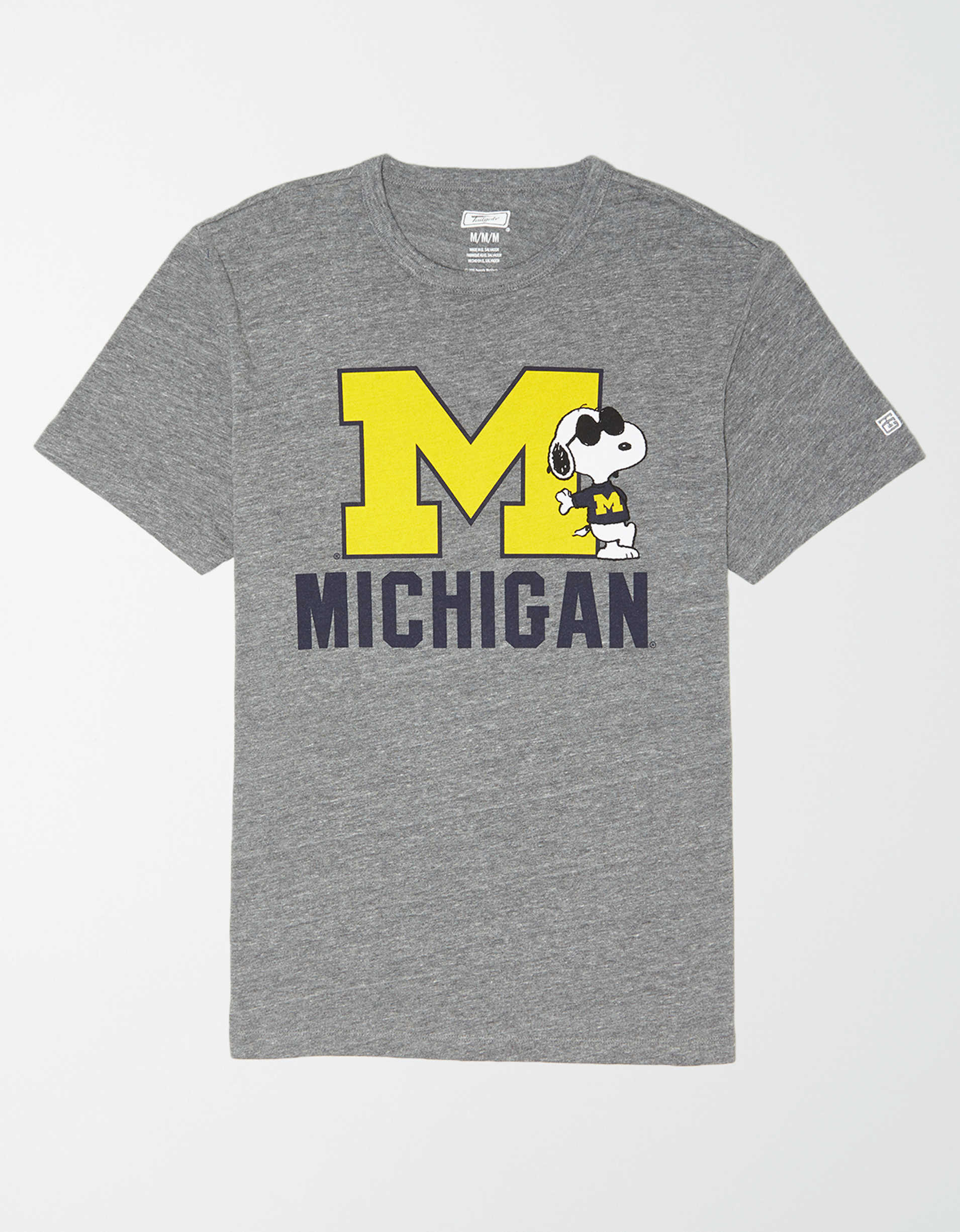 Tailgate x Peanuts Men's Michigan Wolverines T-Shirt