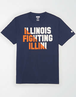 Tailgate Men's Illinois Fighting Illini T-Shirt