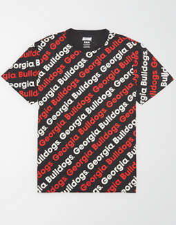 Tailgate Men's Georgia All-Over Graphic T-Shirt
