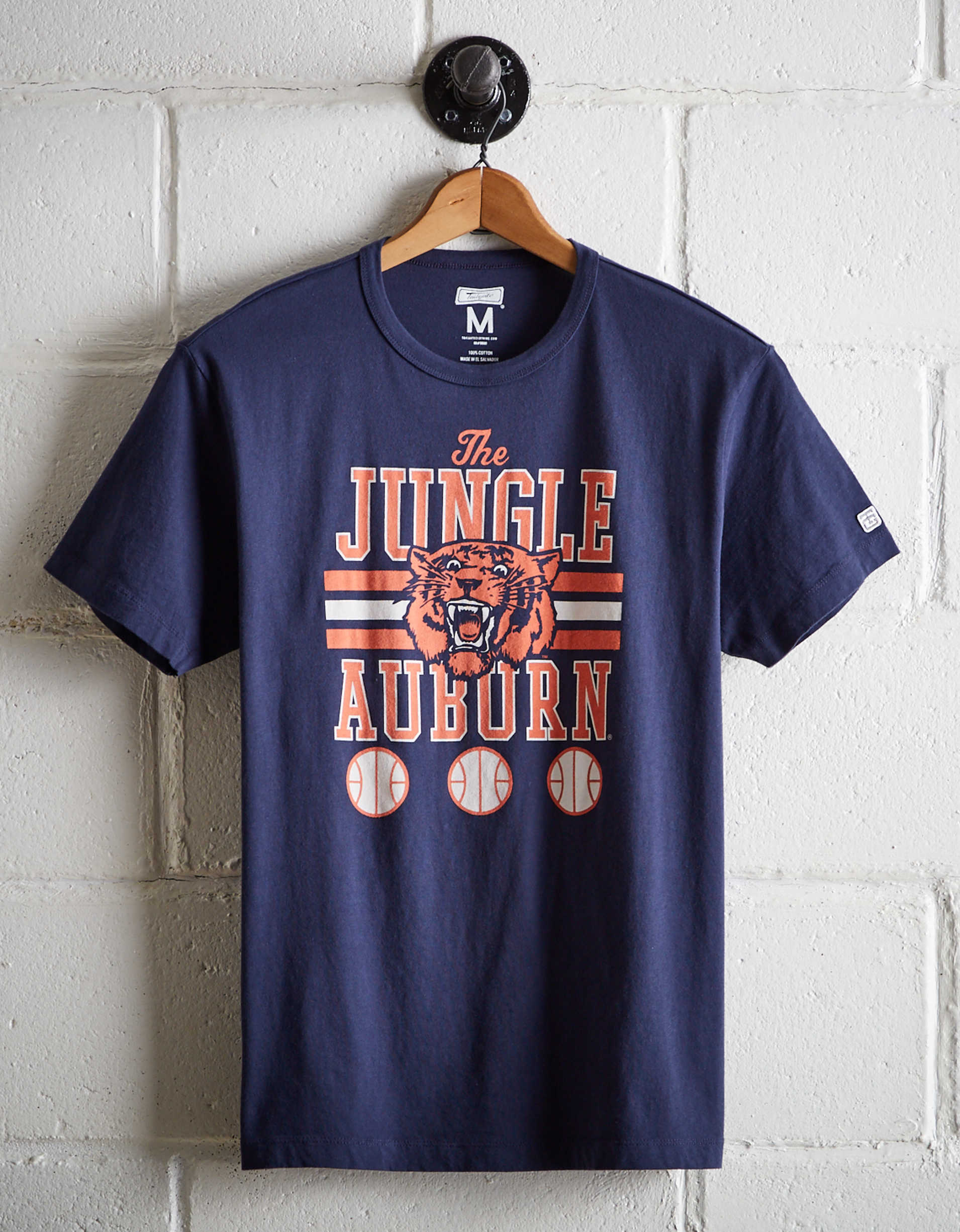 Tailgate Men's Auburn Tigers Basketball T-Shirt