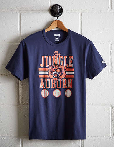 Tailgate Men's Auburn Tigers Basketball T-Shirt - Free Returns