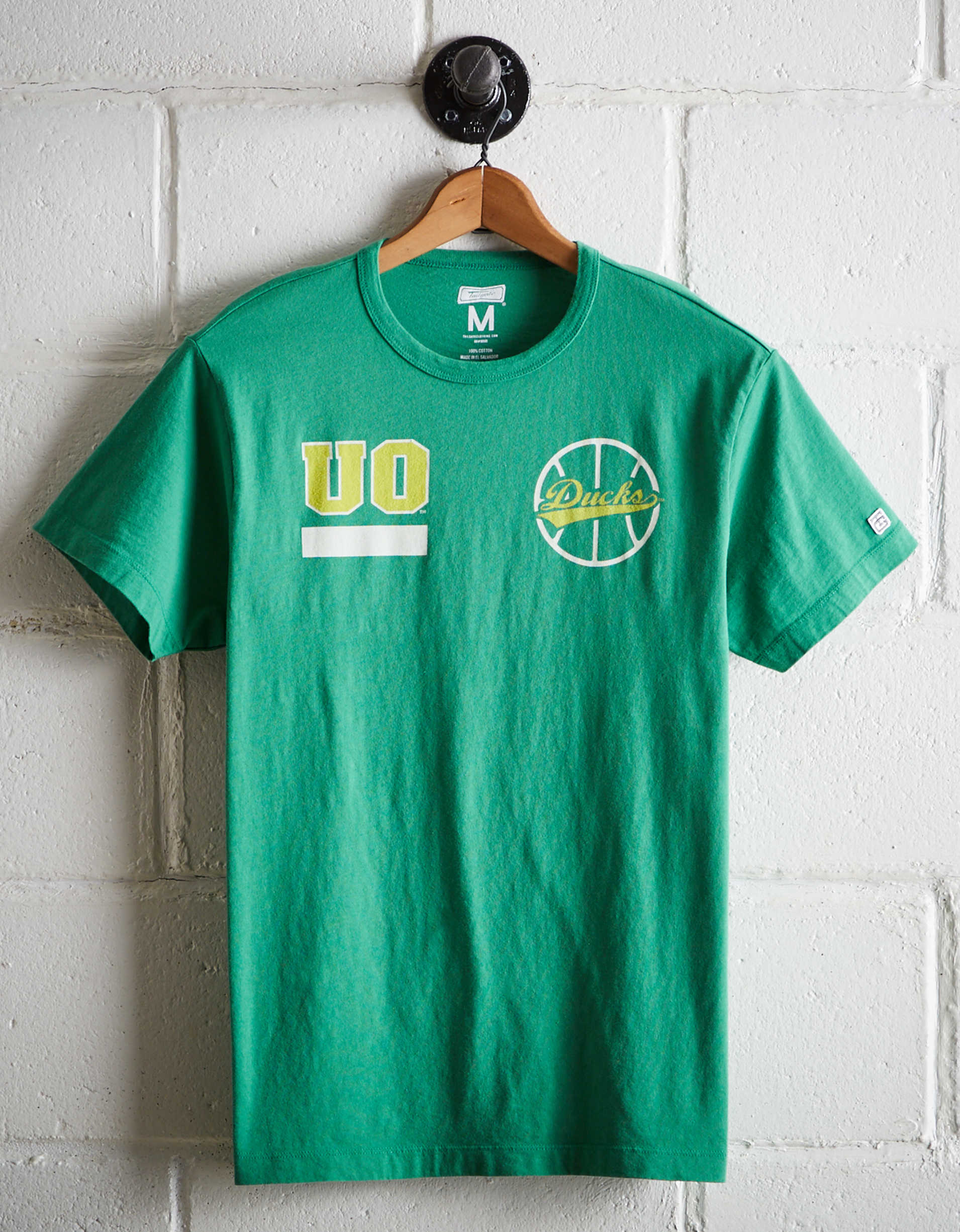 Tailgate Men's Oregon Ducks Basketball T-Shirt
