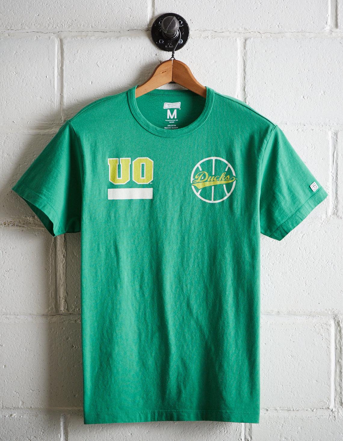 sports shoes b7f16 d5d05 Tailgate Men's Oregon Ducks Basketball T-Shirt