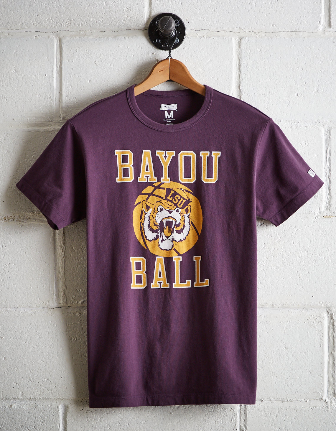 20dbba9adef6d6 Tailgate Men s LSU Tigers Basketball T-Shirt. Placeholder image. Product  Image