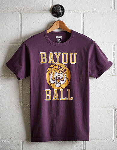Tailgate Men's LSU Tigers Basketball T-Shirt - Free Returns