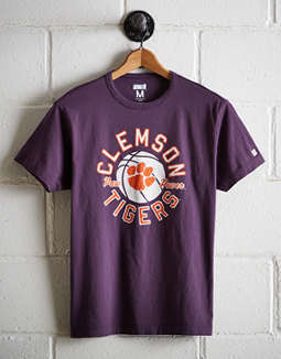 Tailgate Men's Clemson Tigers Basketball T-Shirt