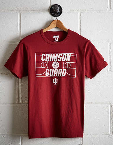Tailgate Men's Indiana Hoosiers Basketball T-Shirt - Free Returns