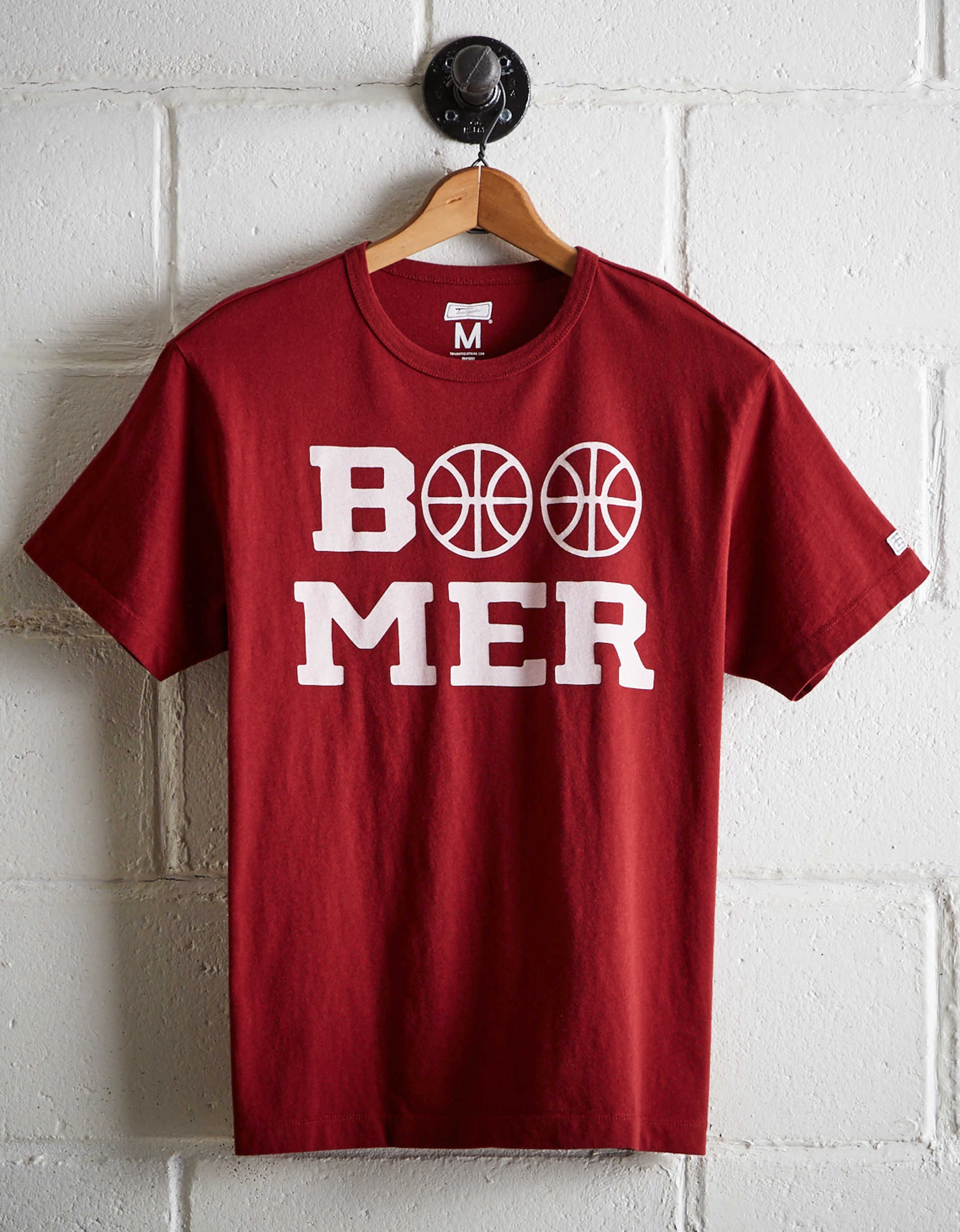 Tailgate Men's Oklahoma Sooners Basketball T-Shirt