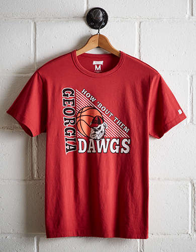 Tailgate Men's Georgia Bulldogs Basketball T-Shirt - Free Returns