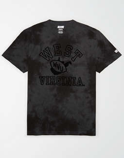 Tailgate Men's WVU Mountaineers Tonal Dye T-Shirt