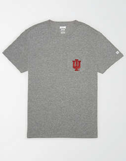 Tailgate Men's Indiana Hoosiers Pocket T-Shirt