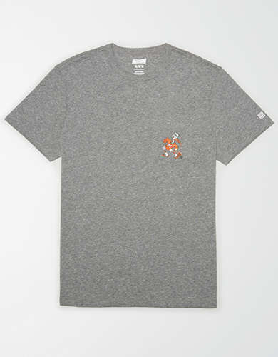 Tailgate Men's Miami Hurricanes Pocket T-Shirt