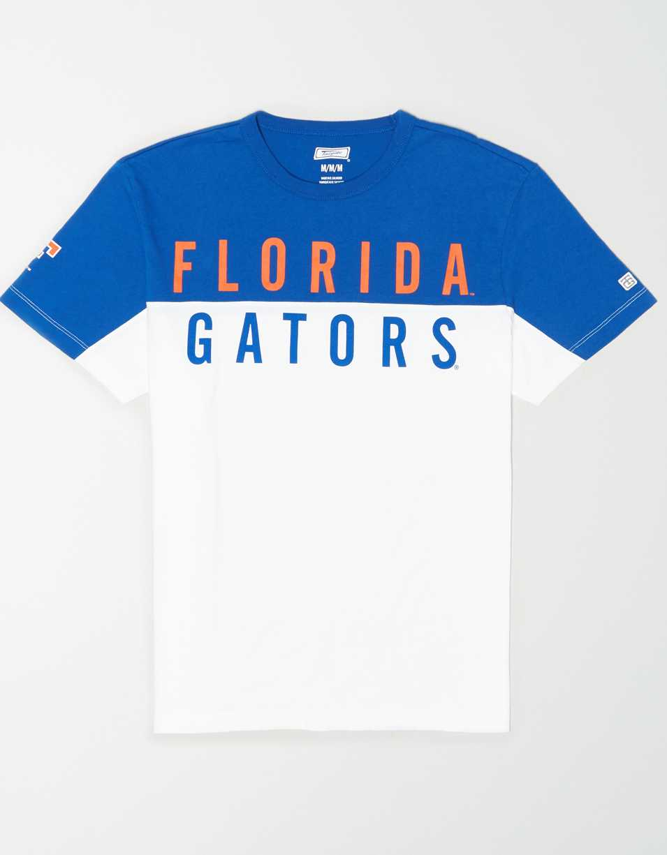 Tailgate Men's Florida Gators Colorblock T-Shirt