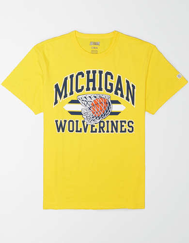 Tailgate Men's Michigan Wolverines Basketball T-Shirt