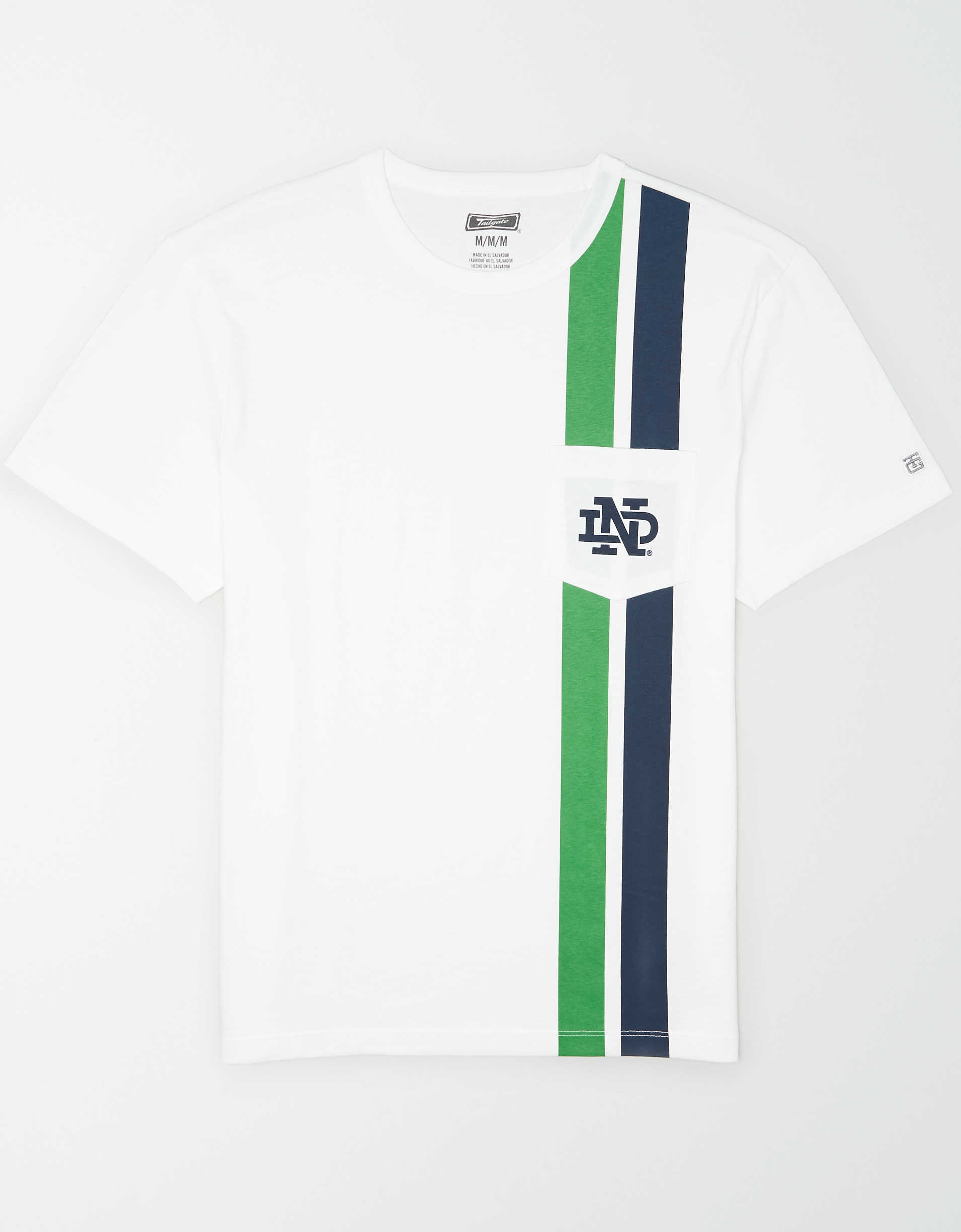 Tailgate Men's Notre Dame Fighting Irish Pocket T-Shirt