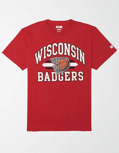 Tailgate Men's Wisconsin Badgers Basketball T-Shirt