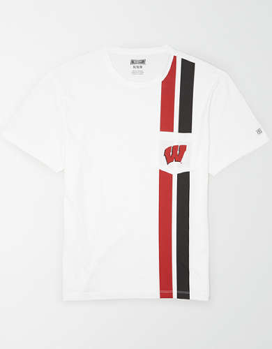 Tailgate Men's Wisconsin Badgers Pocket T-Shirt