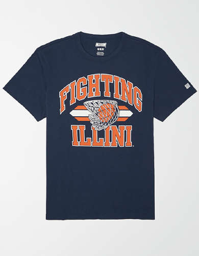 Tailgate Men's Illinois Fighting Illini Basketball T-Shirt