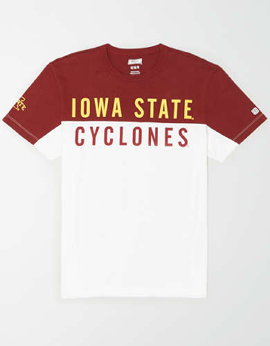 Tailgate Men's Iowa State Cyclones Colorblock T-Shirt