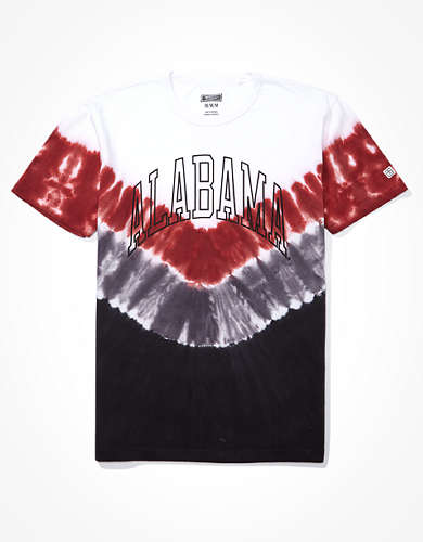 Tailgate Men's Alabama Crimson Tide Tie-Dye T-Shirt