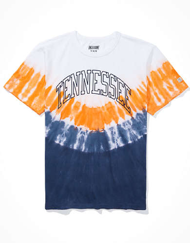 Tailgate Men's Tennessee Volunteers Tie-Dye T-Shirt