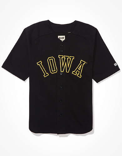 Tailgate Men's Iowa Hawkeyes Baseball Jersey