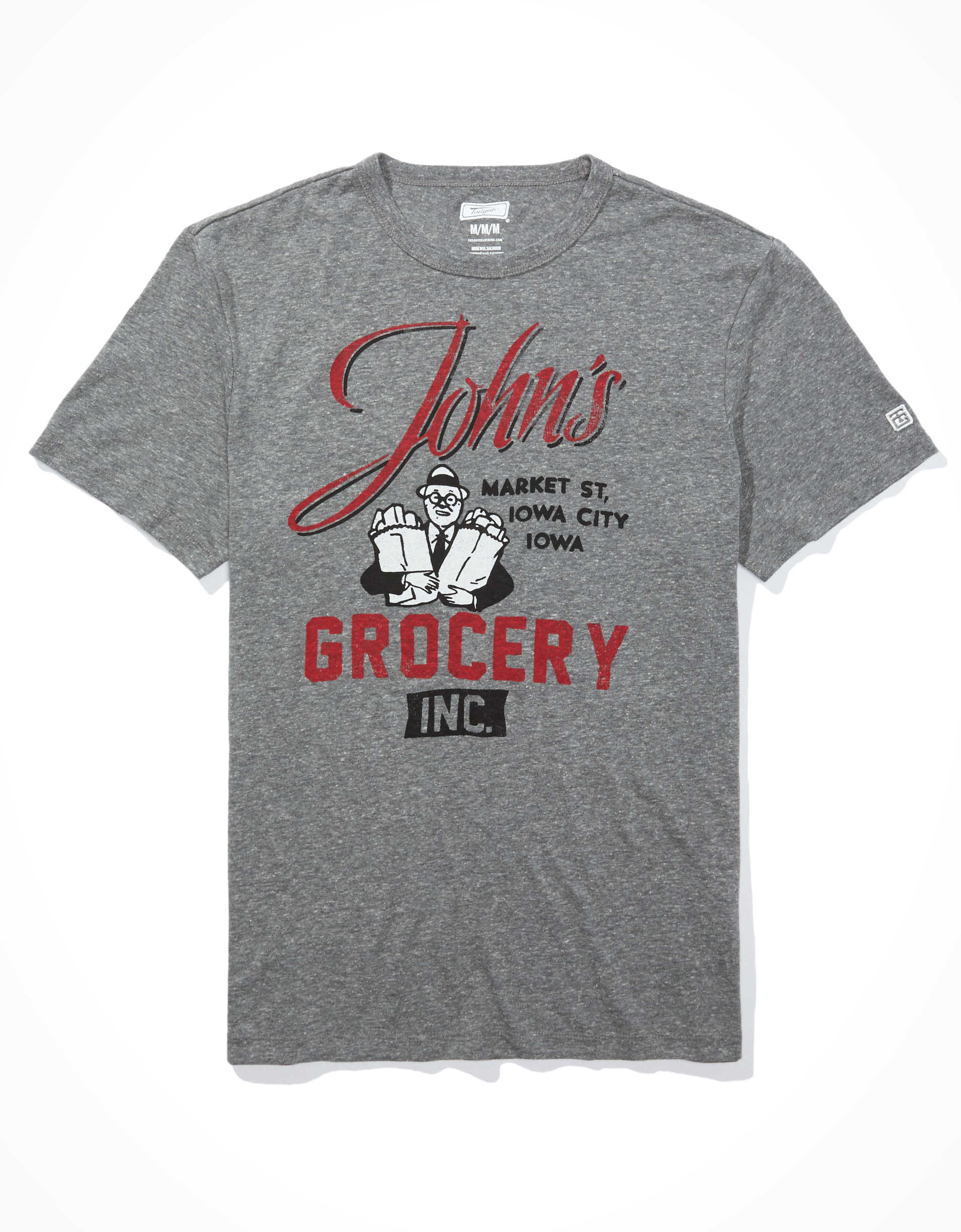 Tailgate Men's Iowa John's Grocery T-Shirt