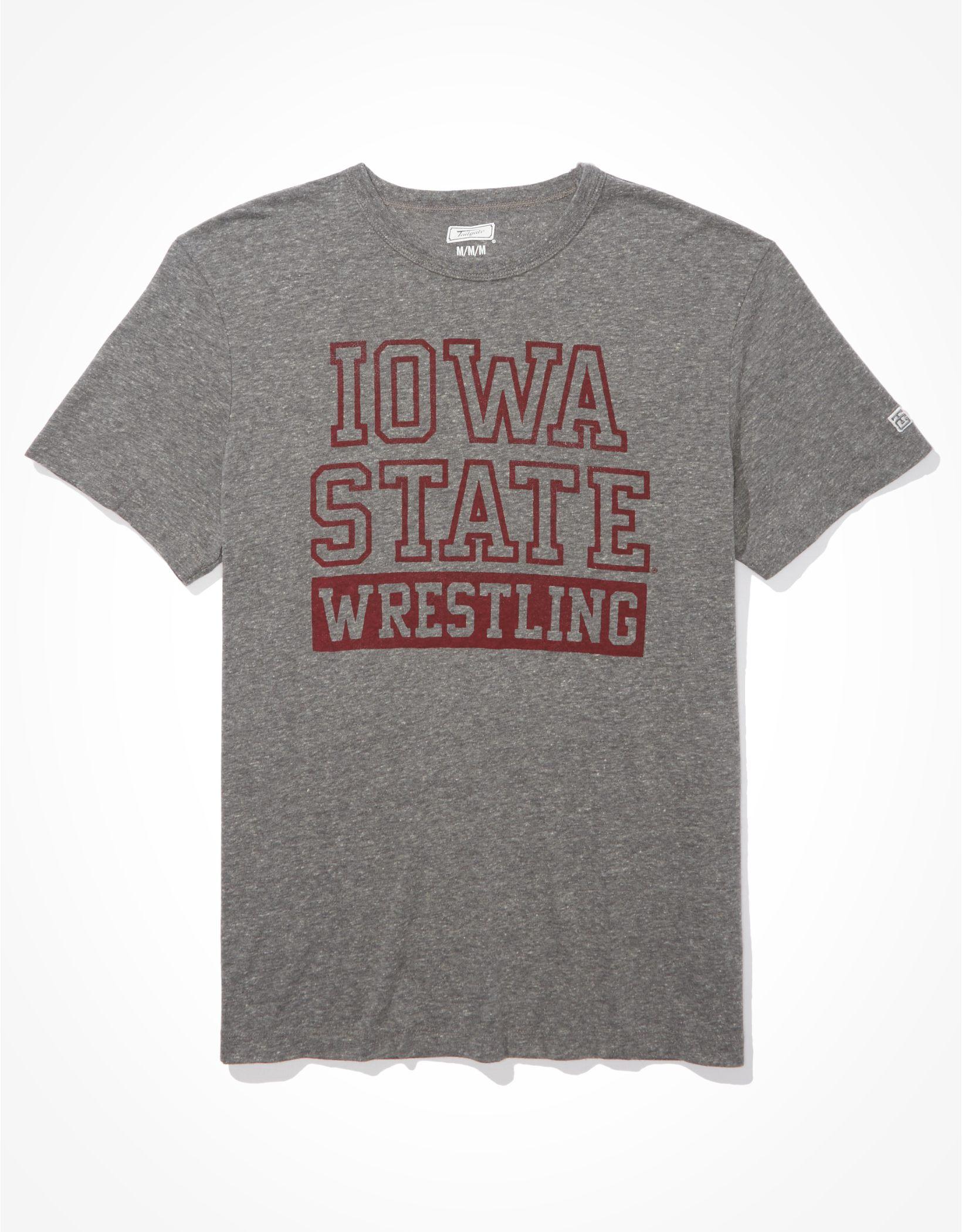 Tailgate Men's Iowa State Cyclones Wrestling Graphic T-Shirt