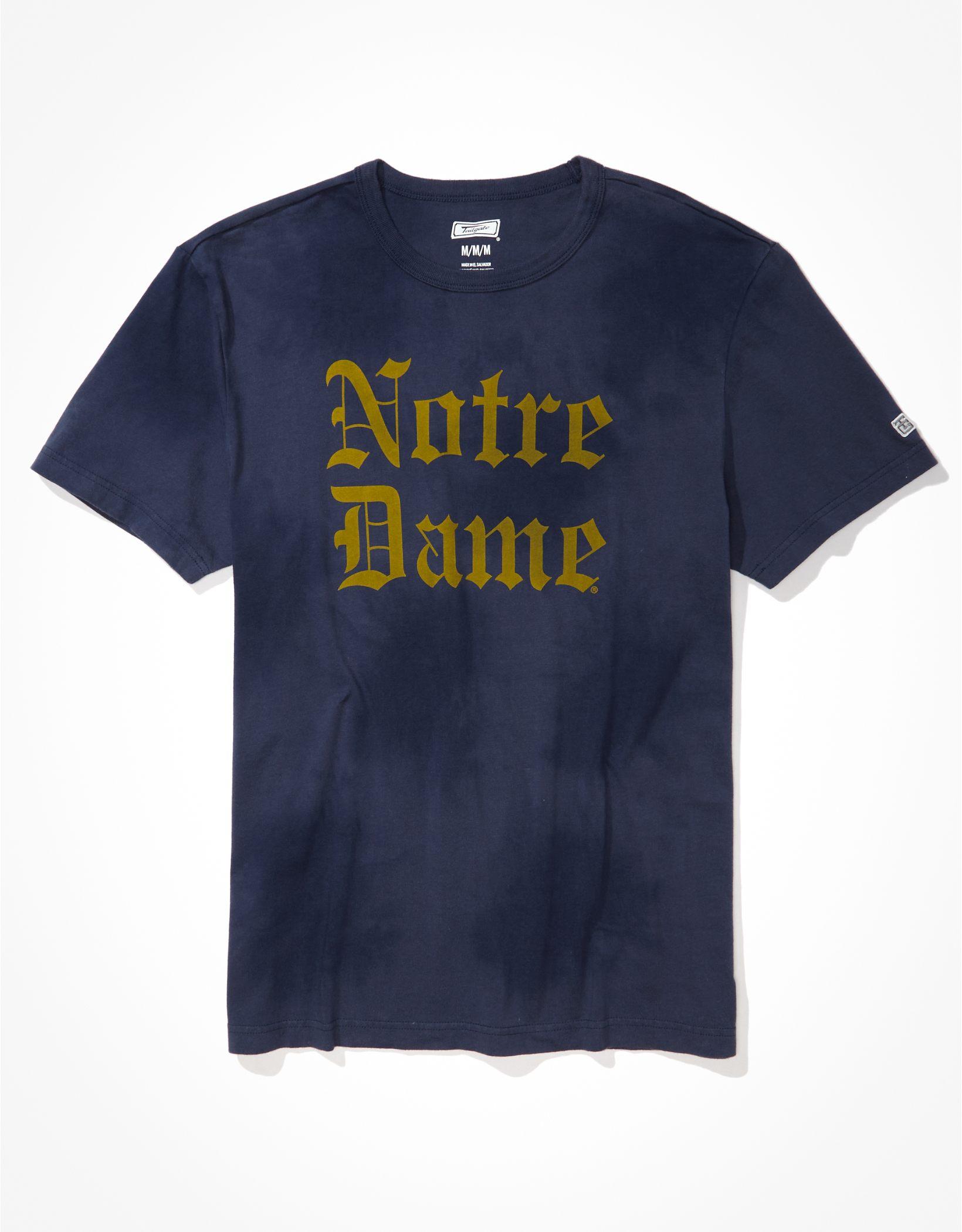 Tailgate Men's Notre Dame Tonal Tie-Dye T-Shirt