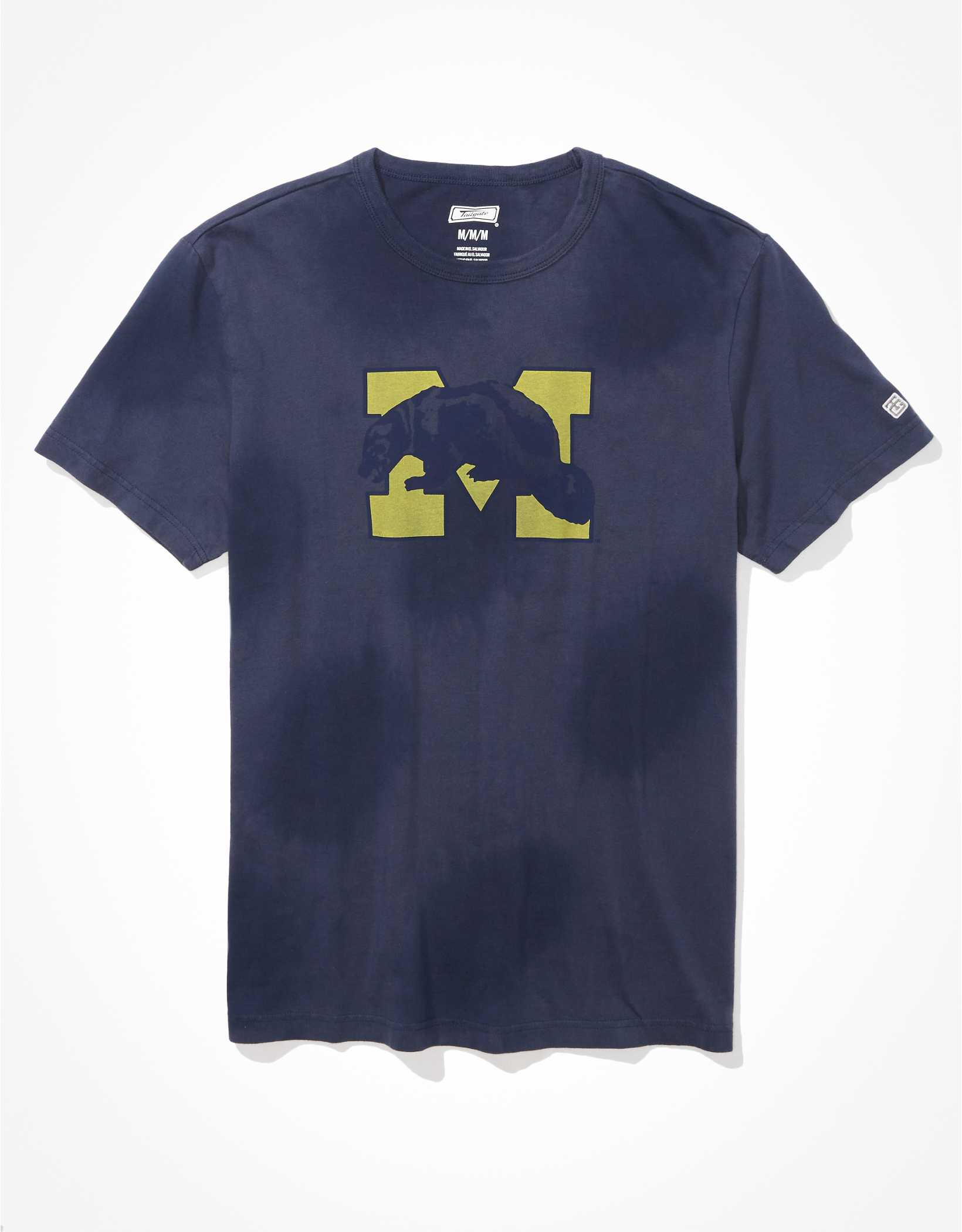 Tailgate Men's Michigan Wolverines Tonal Tie-Dye T-Shirt