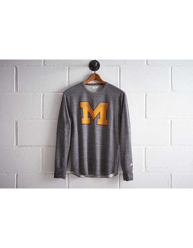 Tailgate Men's Michigan M Thermal Shirt - Free Returns