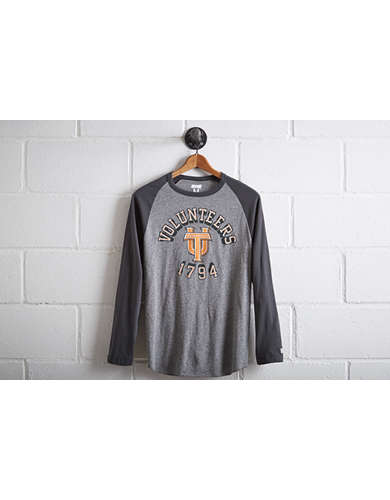 Tailgate Men's Tennessee Volunteers Baseball Shirt - Free Returns
