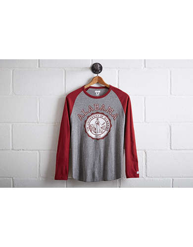 Tailgate Men's Alabama Crimson Tide Baseball Shirt - Free Returns
