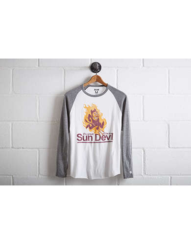 Tailgate Men's ASU Sun Devils Baseball Shirt - Free Returns