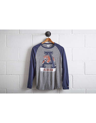 Tailgate Men's Auburn Tigers Baseball Shirt - Free Returns