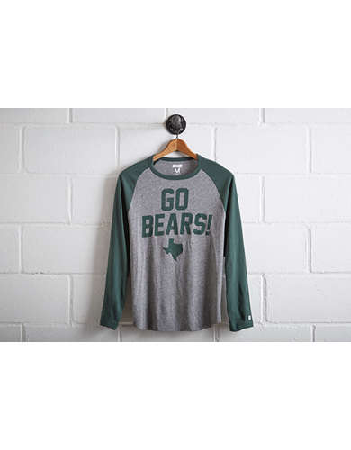 Tailgate Men's Baylor Bears Baseball Shirt - Free Returns