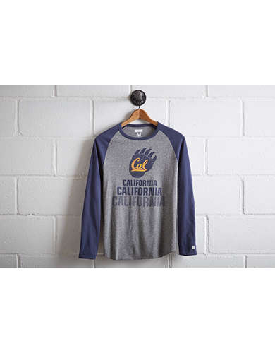 Tailgate Men's UC Berkeley Baseball Shirt - Free Returns