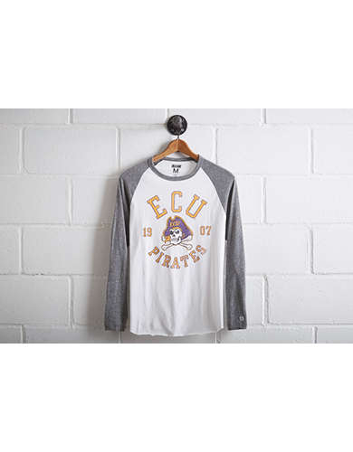 Tailgate Men's ECU Pirates Baseball Shirt - Free Returns