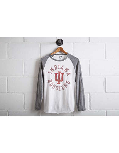Tailgate Men's Indiana Hoosiers Baseball Shirt -