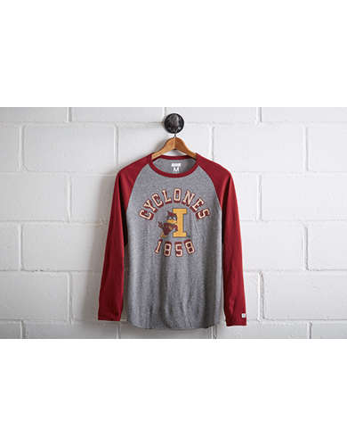Tailgate Men's Iowa State Cyclones Baseball Shirt -