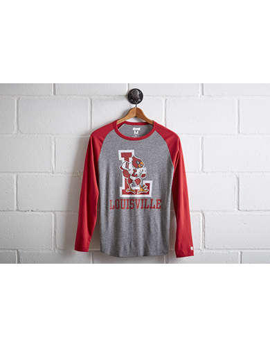 Tailgate Men's Louisville Cardinals Baseball Shirt - Free Returns