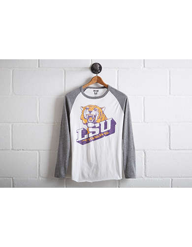 Tailgate Men's LSU Tigers Baseball Shirt - Free Returns