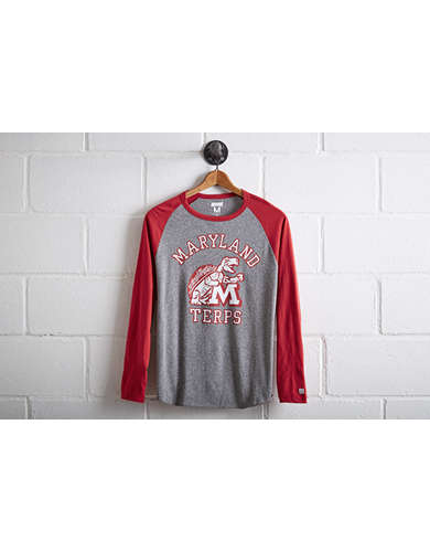 Tailgate Men's Maryland Terrapins Baseball Shirt -