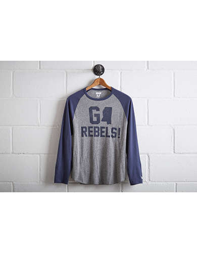Tailgate Men's Ole Miss Rebels Baseball Shirt -