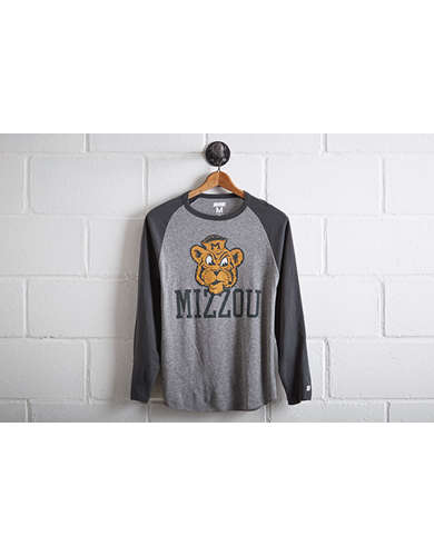 Tailgate Men's Missouri Tigers Baseball Shirt - Free Returns