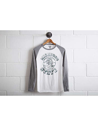 Tailgate Men's Michigan State Baseball Shirt -