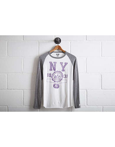 Tailgate Men's NYU Baseball Shirt - Free Returns