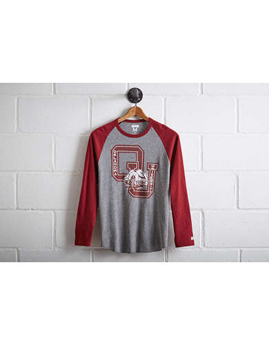 Tailgate Men's Oklahoma Sooners Baseball Shirt -